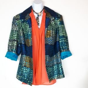 Vintage 80's Investments ll  blazer/jacket.